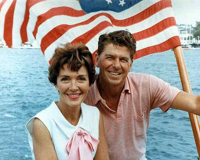 Former 1st lady Nancy Reagan pass away today at 94 of