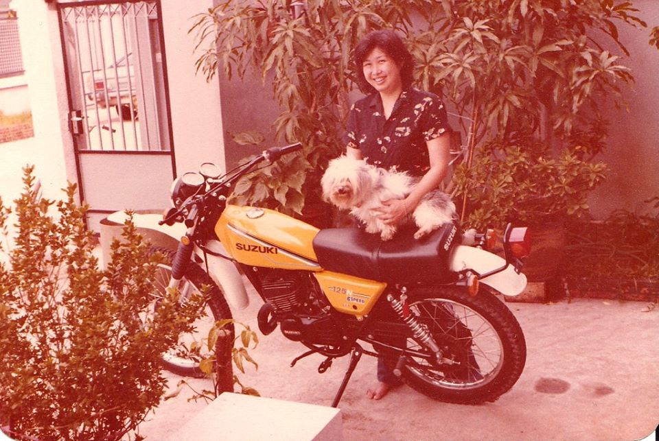 Wan young dog motorcycle Thailand